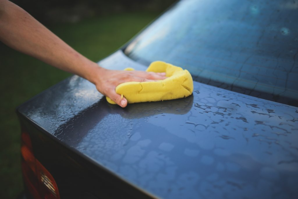 Auto soap for mobile car detailing